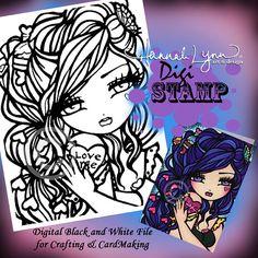 Hey, I found this really awesome Etsy listing at https://www.etsy.com/listing/217859142/printable-digi-stamp-valentine-mermaid