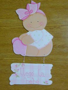 carteles bienvenida bebe