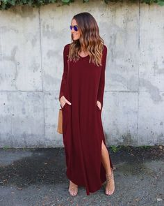 Loose Light-Weight Dresses with Pockets (US Sizes S-XL)