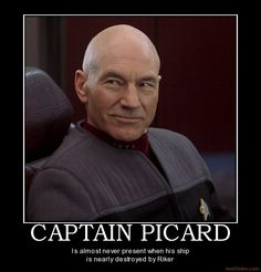 Captain Picard  Star Trek The Next Generation - The thinking persons' captain