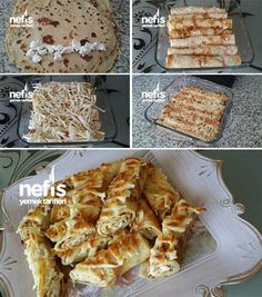 What would you call this in english? Spinach Pie, Salty Foods, Fancy Desserts, Bread And Pastries, Turkish Recipes, Sweet And Salty, Breakfast Recipes, Brunch, Food And Drink