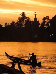 Kerala | Backwater Sunset, Allepy