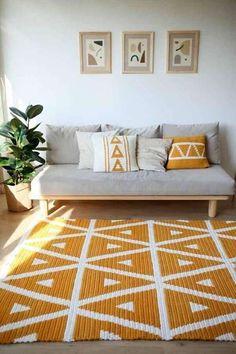 Crochet Pattern / PDF crocher rug pattern, crochet rug / BelkinHome, Home Decor / handmade home decor . Includes brand of yarn featured . Carpet Diy, Best Carpet, Stair Carpet, Cheap Carpet, Carpet Ideas, Handmade Home Decor, Diy Home Decor, Room Decor, Diy Interior