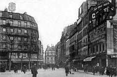 Ma rue à moi....Rue de la Roquette / Place Voltaire, 11e arrdt, ca 1900