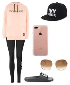 """""""Untitled #77"""" by hannah-bruch on Polyvore featuring Topshop, Ivy Park, Belkin and Chloé"""