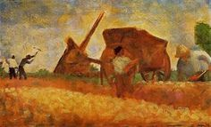 Les casseurs de pierres - (Georges Pierre Seurat)