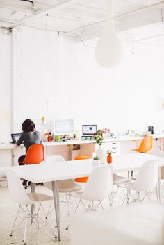 Interiors: Co-working Space in Brooklyn! | Art And Chic