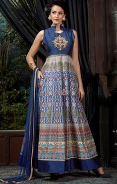 Indo-Western Gown With Latest Design And Stylish Pattern At Low Price Visit: http://www.designersandyou.com/dresses/gown-dress #Indian Style #Gown Style  #PartyWear  #Special  #Gorgeous #IndianGown   #Best Gown  #Model  #PartyGown
