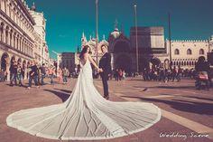 """Ρομαντικά νυφικά δαντέλα με ανοικτή πλάτη : """"d.sign by Dimitris Katselis"""" Real bride . Νυφικό από δαντέλα σε ρίγες , ραμμένη στο χέρι, με έμφαση στην πολύ ανοικτή πλάτη , την μεγάλη ουρά από τούλι και τις ντραπέ λεπτομέρειες. Louvre, Bridal, Lady, Building, Travel, Viajes, Bride, Buildings, Brides"""