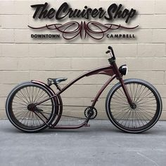 Designed by and now manufactured for us by Just finished this one up for a customers. Cruiser Bicycle, Motorized Bicycle, Bicycle Art, Velo Vintage, Vintage Bicycles, Cool Bicycles, Cool Bikes, Bicicleta Brompton, Custom Beach Cruiser