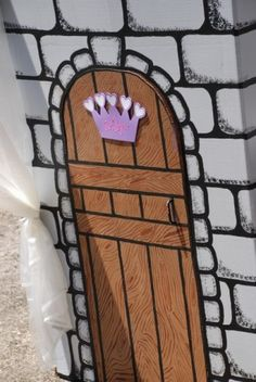 cardboard play castle. birthday ideas