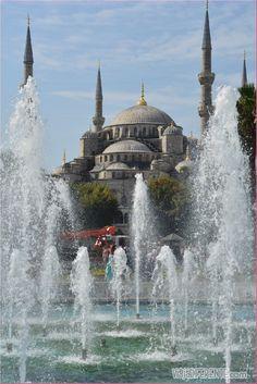 Hagia Sofía o Santa Sofía, Estambul, Turquia                                                                                                                                                      Más