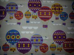 Brand New Hot Air Balloon Print Fabric