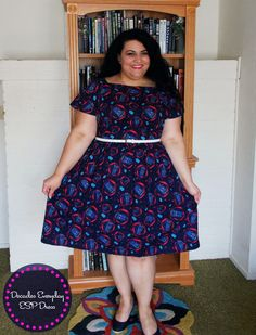 Allons-y, Whovians! Or non-Whovians as it may be! Yep, it's another Decades Everyday ESP Dress! This is definitely my go-to pattern when it comes to myTNT patterns. It's a quick and…