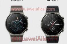Huawei Watch GT 2 Pro îşi dezvăluie designul şi dotările, ar putea sosi pe 10 septembrie Smartwatch, Android, Huawei Watch, Smartphone, Samsung, Blog, Watches, Design, News
