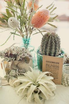 Desert Spring  - Table Setting - Party Theme    #partytheme #tablesetting