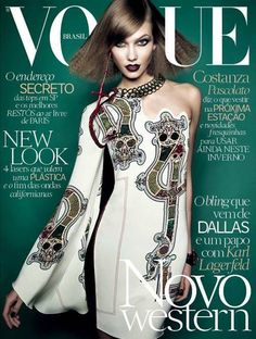 Karlie Kloss for Vogue Brazil - July 2014
