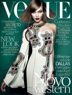 Karlie Kloss for Vogue Brazil - July 2014