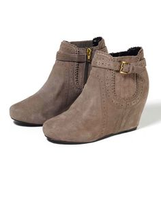 DV by Dolce Vita 'Parkers' Covered Wedge Booties
