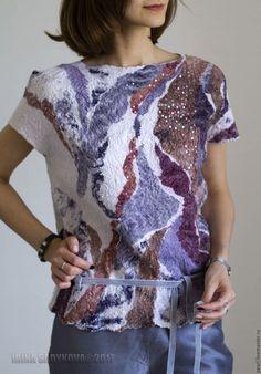 Блузки ручной работы. Блуза