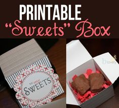 A darling Valentine's Day gift idea that is sweet and delicious! Includes a FREE printable!