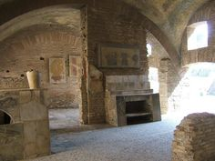 Ostia Antica. Thermopolium.