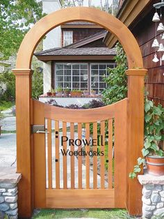 garden gate arbor | ... CA, with Gate Arbor #10 shown with the often-accompanying Gate #25