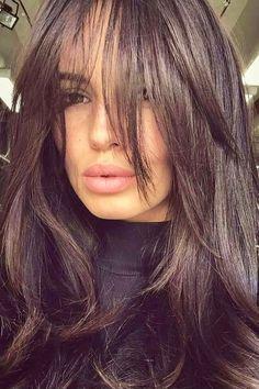 Long Length Haircuts, Haircuts For Medium Hair, Bangs With Medium Hair, Trendy Haircuts, Medium Hair Styles, Long Hair Styles, Haircut For Medium Length Hair, Medium Haircuts For Women, Trending Haircuts For Women