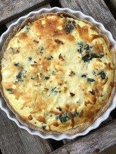Greek Recipes, Italian Recipes, Quiche, Recipies, Food And Drink, Feta, Baking, Dinner, Breakfast