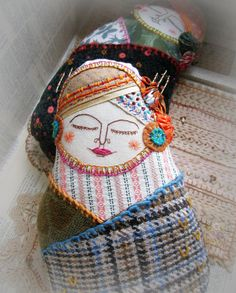 Decorative Doll Enchanted Matroyshka with by murgatroydandbean, £28.00