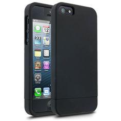 Cellairis Textured Slide Series: Charcoal Black iPhone 5 Case - $27.99 - #Charcoal #Textured #Slide #iPhone5