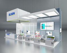ELSEN exhibition design on Behance
