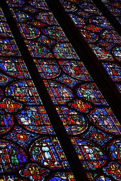 Stained glass - Sainte-Chapelle