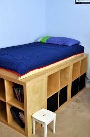Ikea hack bett expedit  IKEA Hackers: Expedit storage bed   Favorite Places & Spaces ...