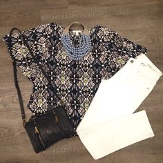 This #Outfitoftheday is perfect for a shopping day or a date night!