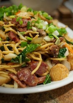 Recipe for Pancit Canton – a Massively Popular Pancit in the Philippines