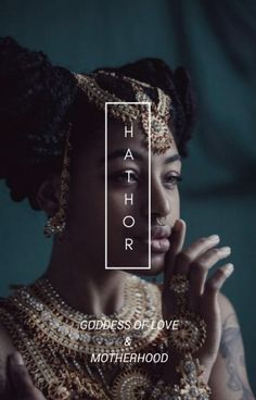 Egyptian deity--Hathor