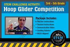 STEM Activity Challenge Hoop Glider 3rd-5th grade from Science_Demo_Guy on TeachersNotebook.com - (9 pages) - Science Activity Challenge: Hoop Glider 3rd-5th grade