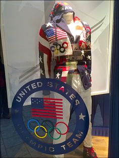 Polo Ralph Lauren® Sochi Styles for Men's Olympics Ralph Lauren Olympics, Polo Ralph Lauren, Visual Merchandising, Captain America, Skiing, Retail, Window, Cosplay, Mens Fashion