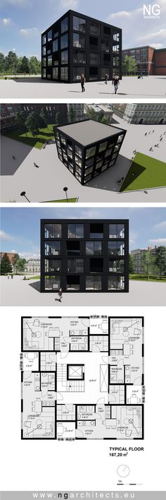 multiapartment building designed by NG architects www.ngarchitects.eu