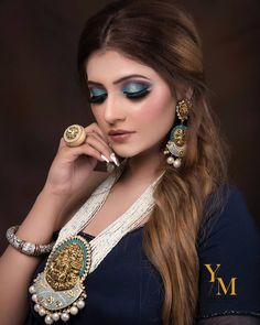 Makeup is a way for a woman to look and feel like herself, only prettier and more confident. Indian Makeup Artist, Best Makeup Artist, Wedding Makeup Artist, Professional Makeup Artist, Hair And Makeup Artist, Beauty Makeup, Best Bridal Makeup, Indian Bridal Makeup, Beautiful Indian Brides