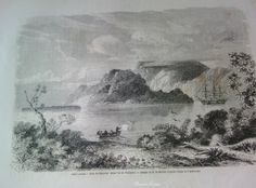 French Engraving from 1860  View of Vanikoro Island by reveriefrance on Etsy