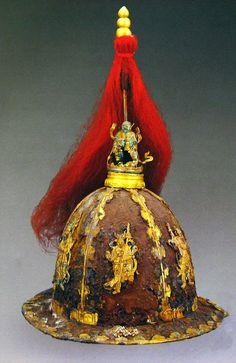 Parade helmet of Emperor Wanli (萬曆皇帝), Ming Dynasty.