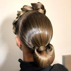 Hairstyle for @kiraoksas by me ✨#terpugovamargarita #hairstyle #dance #ballroomdance #прическа #бал - margarita_profmuah