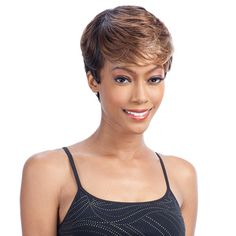 Freetress Equal Synthetic Hair Wig Green Cap Protective Style 003