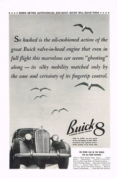 1936 Buick 8 Advertisement Photo Picture