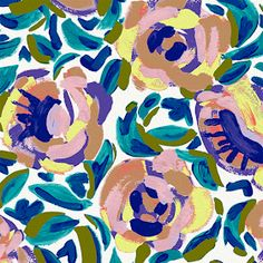 print & pattern: DESIGNER - jen lindup of bright limelight studio Textures Patterns, Fabric Patterns, Flower Patterns, Print Patterns, Textile Prints, Textile Art, Floral Prints, Pattern Design, Print Design