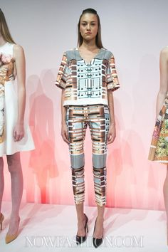 Clover Canyon -  Spring 2014 Ready-to-Wear