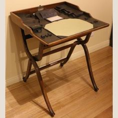 Late 19th / Early 20th Century Campaign Writing Desk