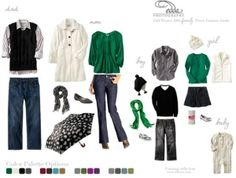 Fall/Winter Family Fashion Guide - What to wear for your photo shoot. Edda Photography by maura